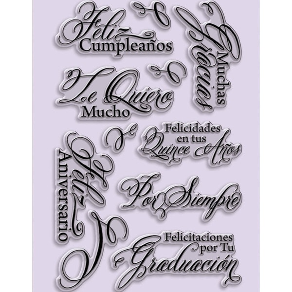 Shop stampendous perfectly clear stamps 4x6 sheet spanish stampendous perfectly clear stamps 4x6 sheet spanish greetings m4hsunfo