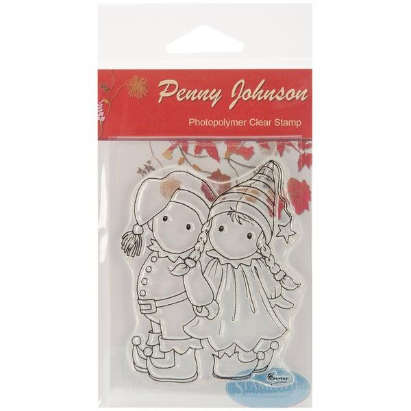 """Stampavie Penny Johnson Clear Stamp-Elfin Children 3-1/2"""""""