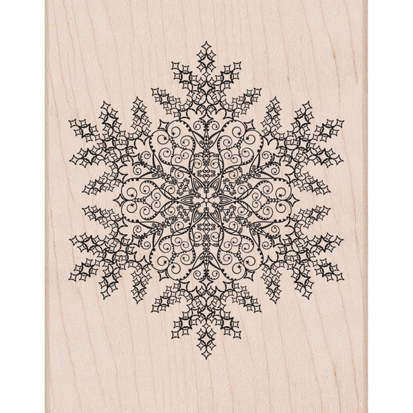 Hero Arts Mounted Rubber Stamps-Dazzling Snowflake