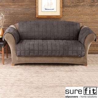 Sure Fit Deluxe Pet Mini Check Sofa Cover