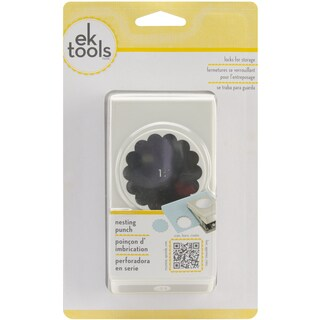 Nesting Paper Punch-Scallop Circle 1.75""