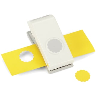 Nesting Paper Punch-Scallop Circle 1""