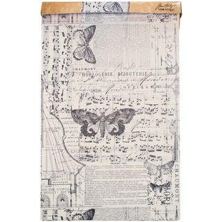 Tim Holtz Idea-Ology Tissue Wrap Roll/Box-Melange