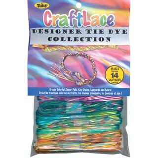 Craft Lace 25 Feet 12/Pkg-Tie Dye