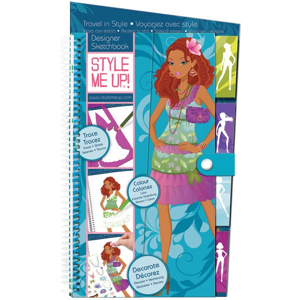 Style Me Up Travel In Style Sketchbook-