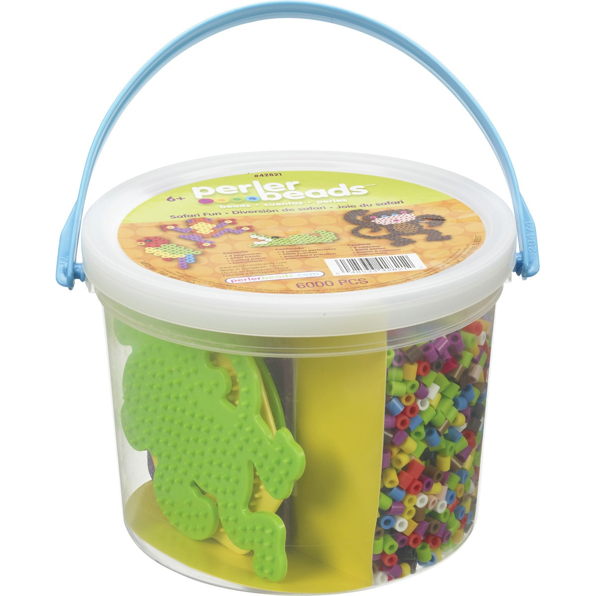 Perler Fun Fusion Fuse Bead Activity Bucket-Safari Fun (S...