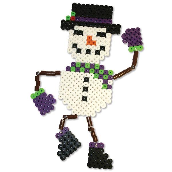 Perler Fun Fusion Biggie Bead Activity Kit-Snowman