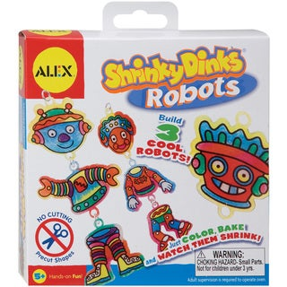 Alex Toys Shrinky Dink Activity Kits-Robots