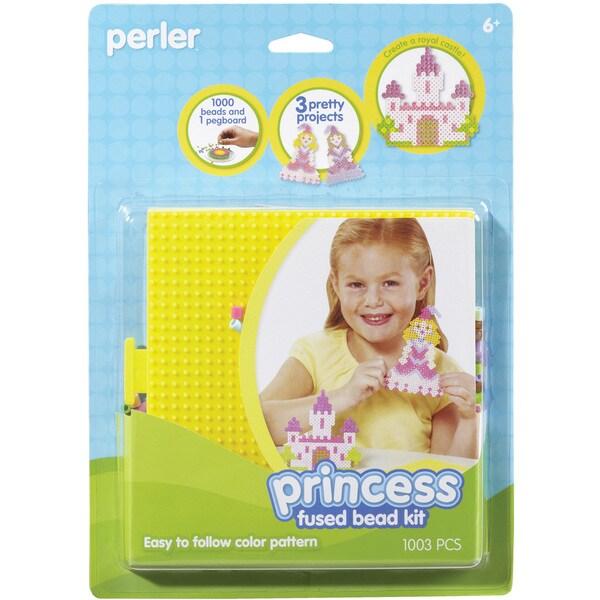 Perler Fun Fusion Fuse Bead Activity Kit-Princess