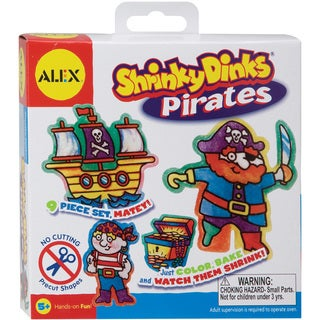 Alex Toys Shrinky Dink Activity Kits-Pirates