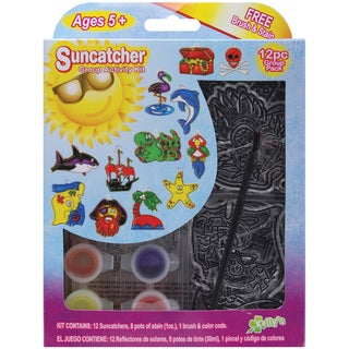 Suncatcher Group Activity Kit-Pirate 12/Pkg