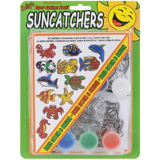 Suncatcher Group Activity Kit-Ocean 12/Pkg