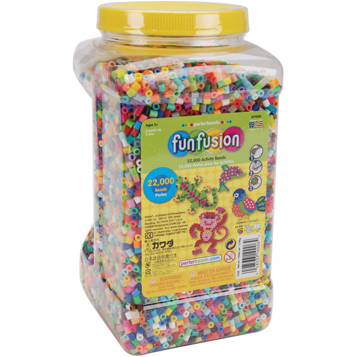 Perler Fun Fusion Beads 22,000/Pkg-Multi Mix (Multi Mix)