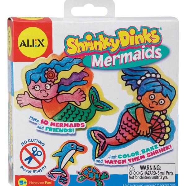 Alex Toys Shrinky Dink Activity Kits-Mermaids