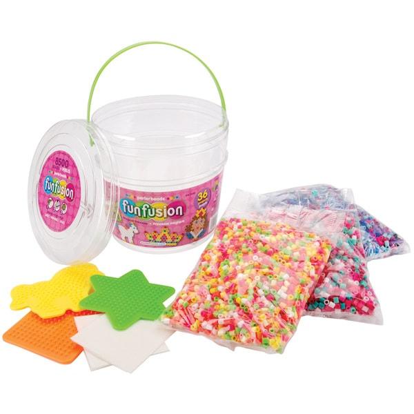 Perler Fun Fusion Fuse Bead Activity Bucket-Magic Princess