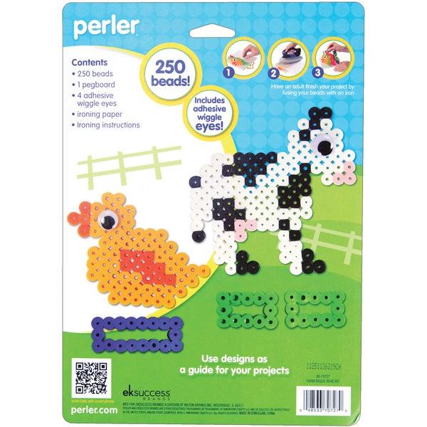 Perler Fun Fusion Biggie Fuse Bead Activity Kit-Farm