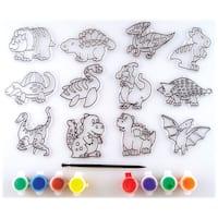 Suncatcher Group Activity Kit-Dinosaur 12/Pkg