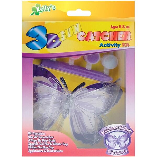 3-D Suncatcher Activity Kits-Butterfly