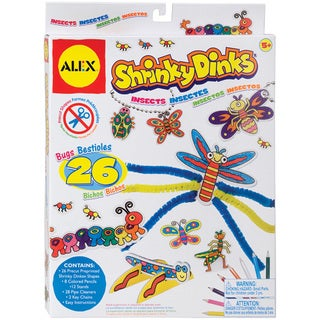 Alex Toys Shrinky Dinks Kit-Insects
