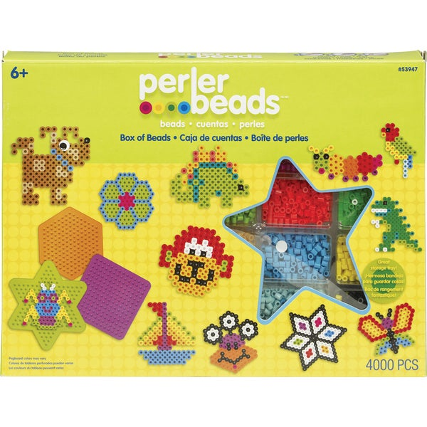 Perler Fun Fusion Fuse Bead Value Activity Kit-Box Of Beads