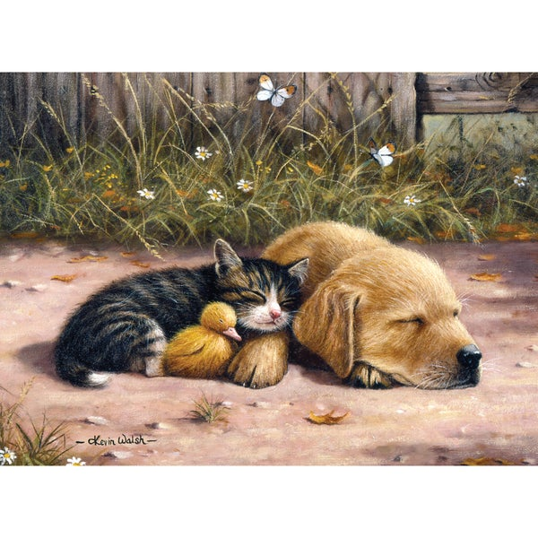 """Junior Large Paint By Number Kit 15-1/4""""X11-1/4""""-Sleepy Day"""