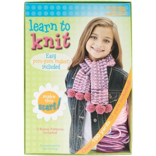 Learn To Knit -Scarf-