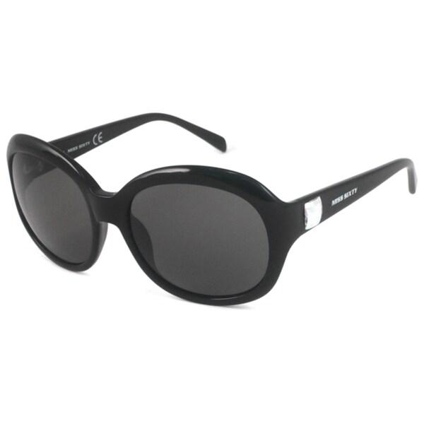 Miss Sixty MX365S Women's Rectangular Black/Gray Sunglasses