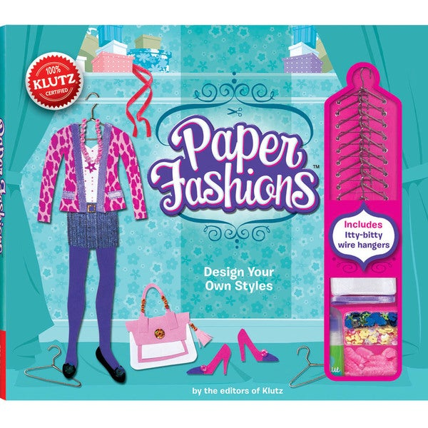 Paper Fashions Book Kit-