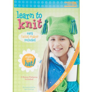 Learn To Knit -Hat-