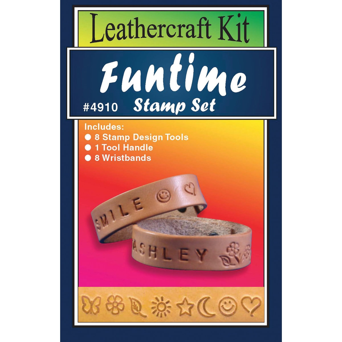 Silver Creek Leather Kit-Funtime Stamp Set (Funtime Stamp...
