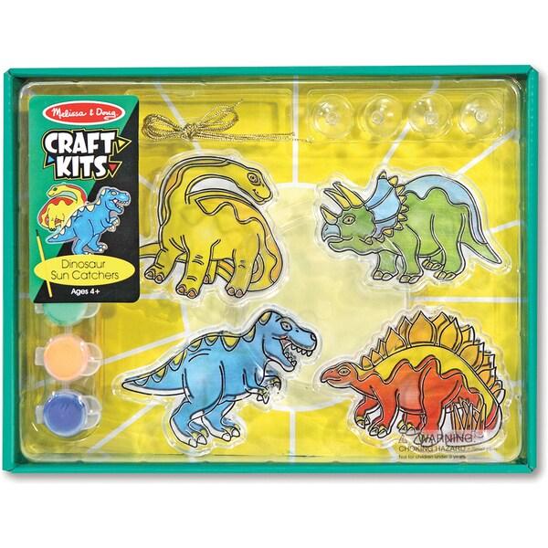 Sun Catcher Craft Kit-Dinosaur