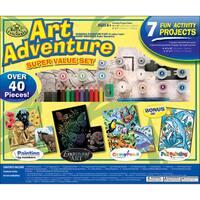 Art Adventure Super Value Pack Kit-40+ Pieces