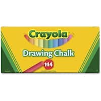 Crayola Drawing Chalk-144/Pkg