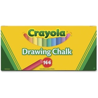 Crayola Drawing Chalk-144/Pkg