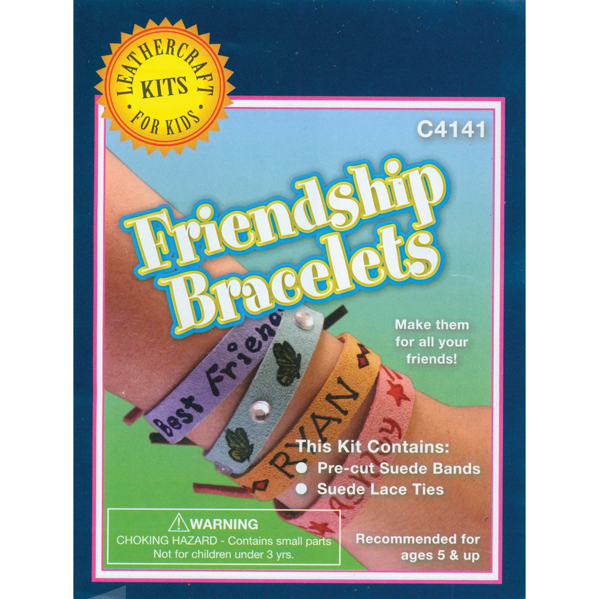 Silver Creek Leather Kit-Friendship Bracelets (Friendship...