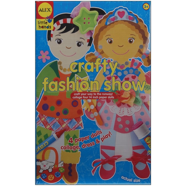 Little Hands Crafty Fashion Show Kit-