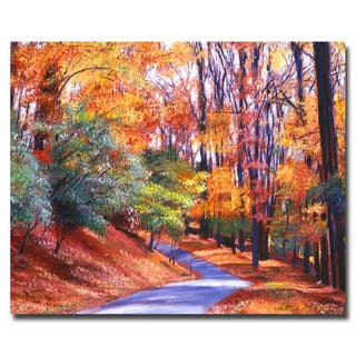 David Lloyd Glover 'Along the Winding Road' Canvas|https://ak1.ostkcdn.com/images/products/7541673/7541673/David-Lloyd-Glover-Along-the-Winding-Road-Canvas-P14976327.jpeg?impolicy=medium