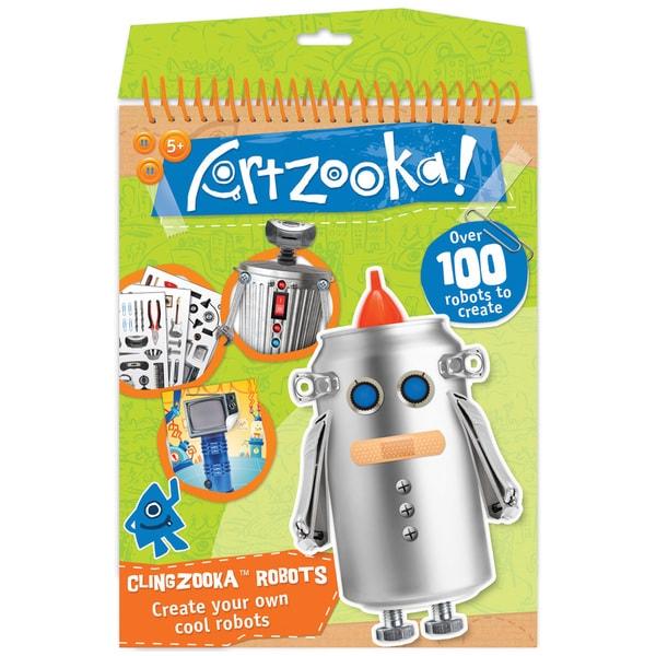 Clingzooka Robots Kit-