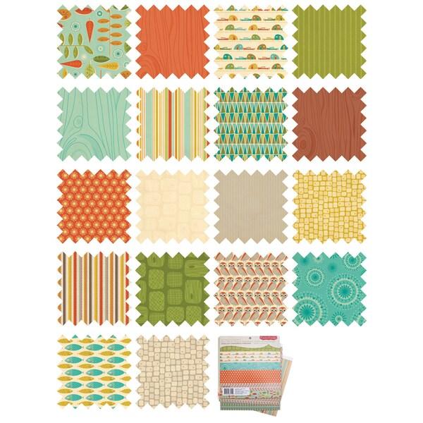 """Smore Love Mini Deck Paper Pad 8""""X8""""-"""