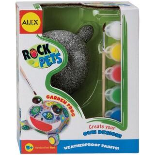 Rock Pets Paint Kit-Garden Frog