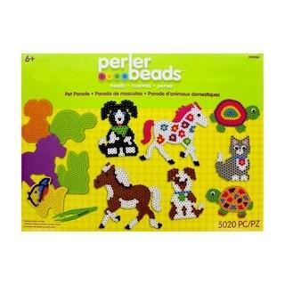 Perler Fun Fusion Fuse Bead Value Activity Kit-Pet Parade