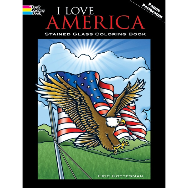 Dover Publications-I Love America Coloring Book