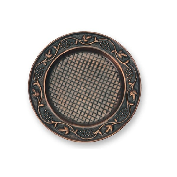 Old Dutch Antique Copper Heritage Charger Plates (Set of 6)
