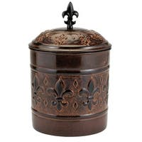 Old Dutch Versailles 4-quart Cookie Jar with Fresh Seal Cover