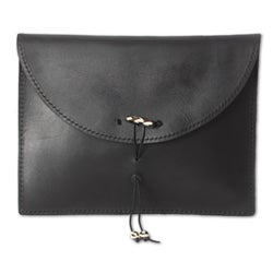 Leather 'Glorious Ebony' iPad Case (Ghana)