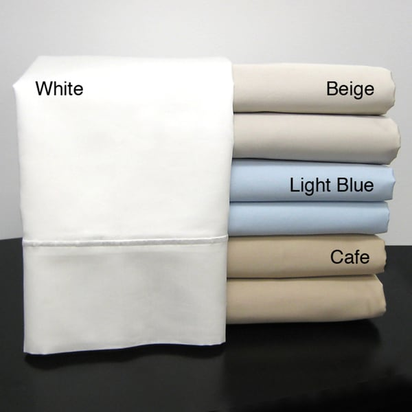 Chalet Collection Egyptian Cotton Sateen 800 Thread Count Sheet Set