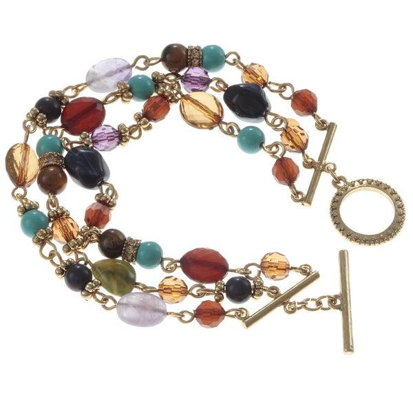 Ralph Lauren 3-row Small Multi Bead Bracelet