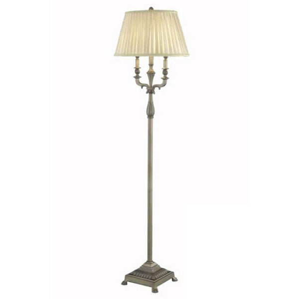 Somette Antique Copper 1-light Floor Lamp
