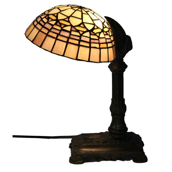 Amora Tiffany Style Desk Lamp