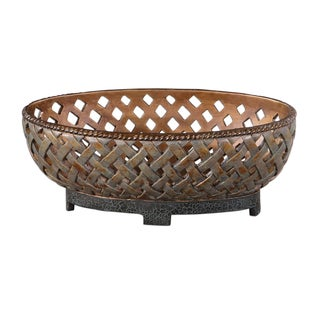 Uttermost Teneh Copper Bronze Finsh Bowl